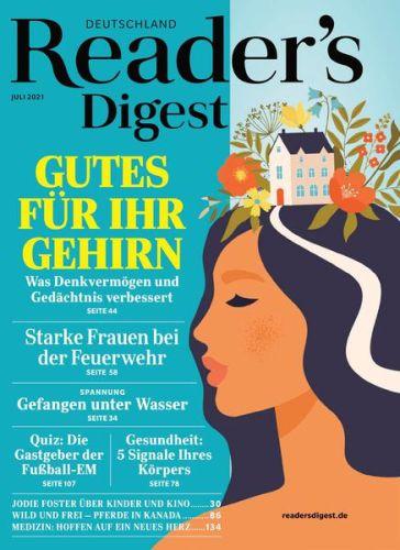 Cover: Readers Digest Deutschland No 07 2021