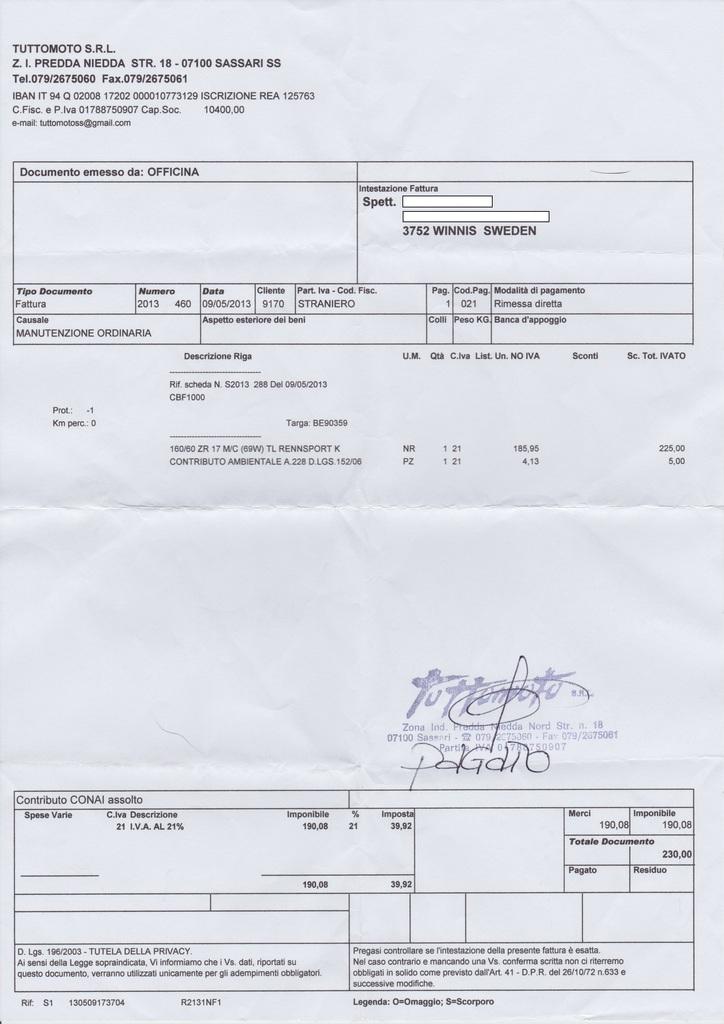 Euromaster Rechnung : mimoto 39 s reiseforum thema anzeigen datenbank f r motorrad reifenh ndler im europ ischen ausland ~ Themetempest.com Abrechnung