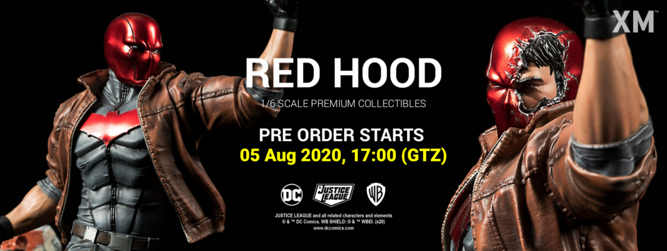 Premium Collectibles : Red Hood 1/6 Redhoodfbbannergzkku