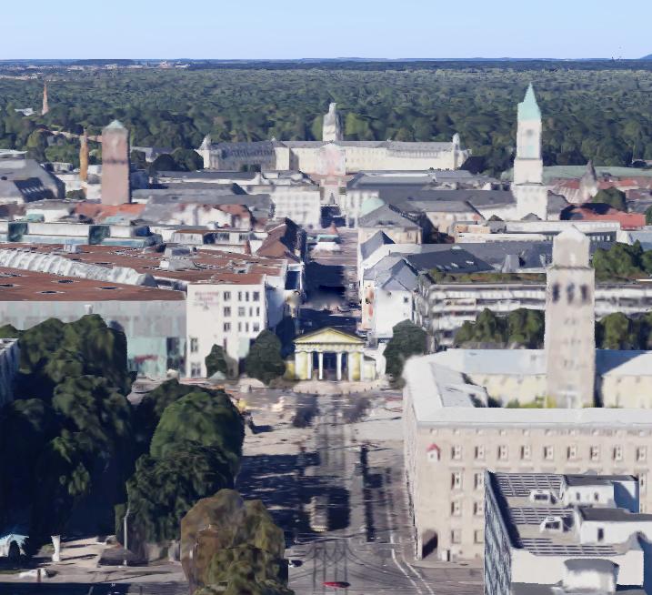 Karlsruhe Ettlinger Tor Bw Karlsruhe