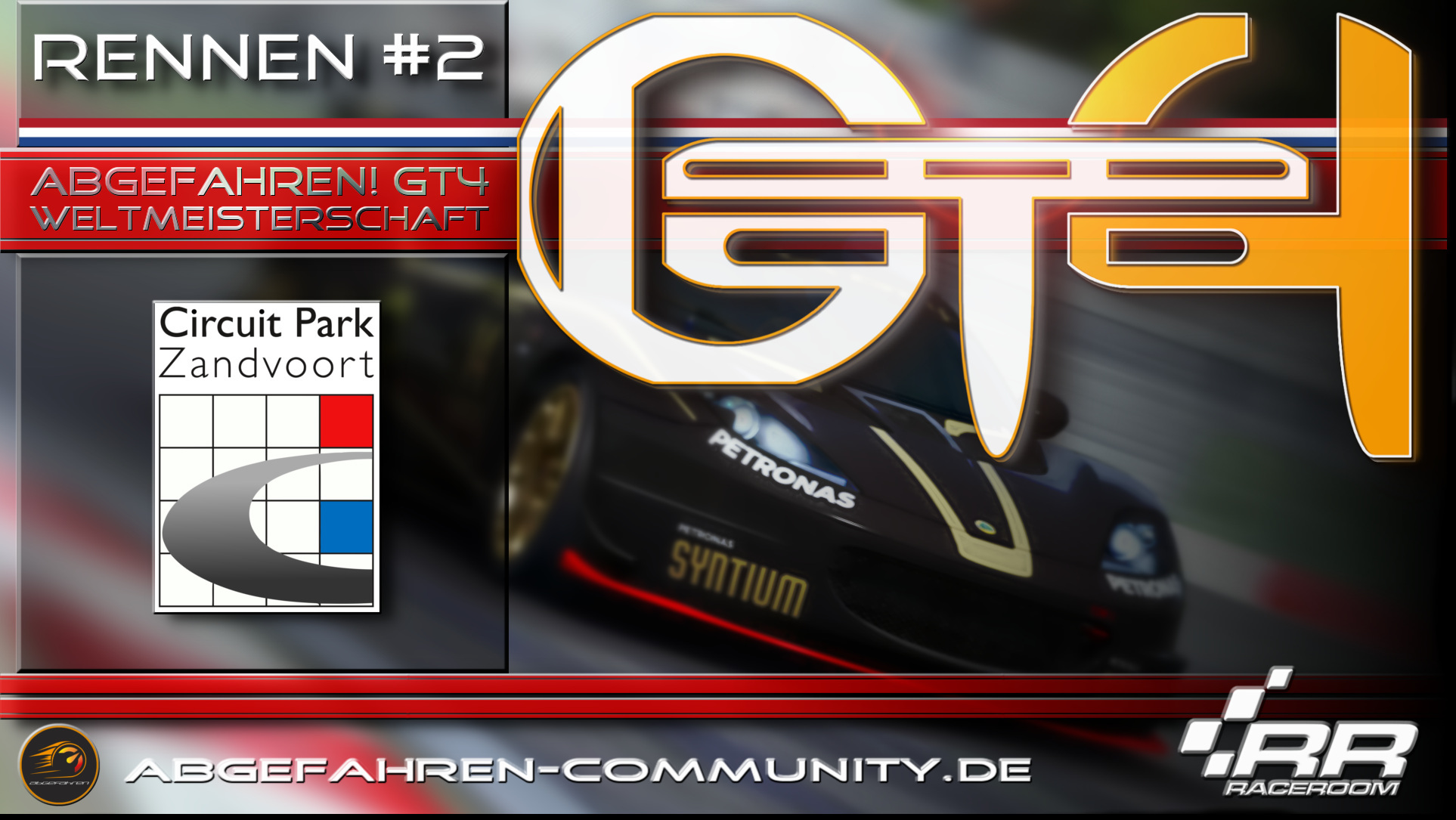 Abgefahren R3E -  GT4 Weltmeisterschaft | Rennen #2 Circuit Zandvoort | Grand Prix