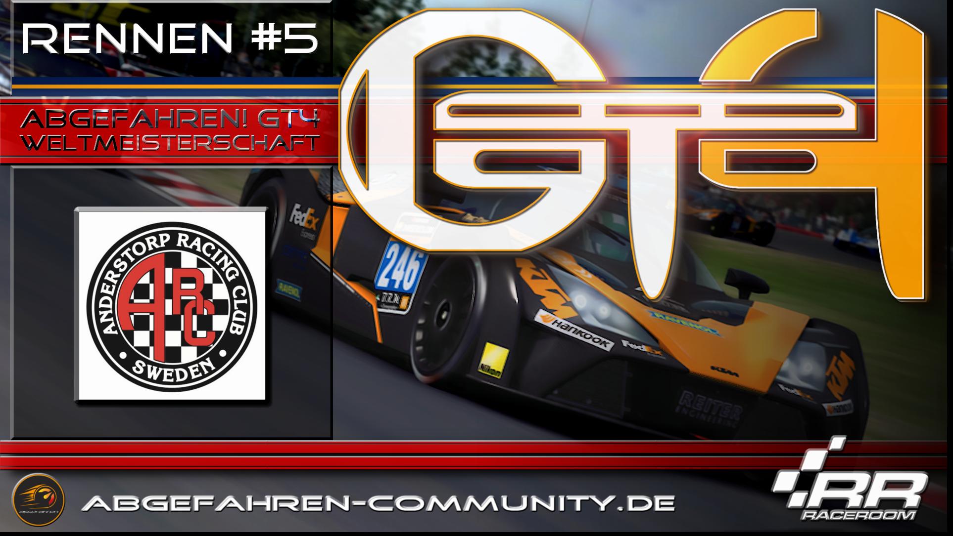 GT4 Weltmeisterschaft | Rennen #5 Anderstorp | Grand Prix