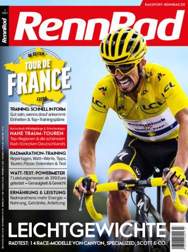 Cover: Rennrad Magazin No 07 2021