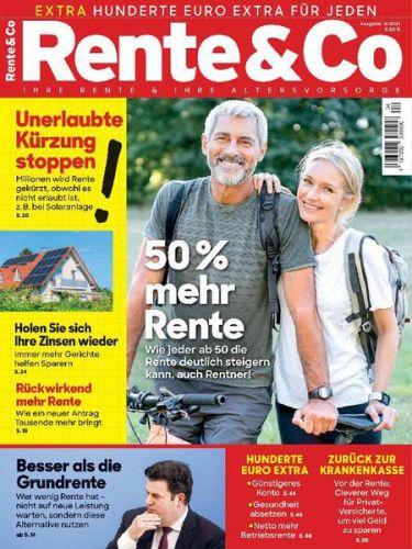 Cover: Rente & Co Magazin No 04 2021