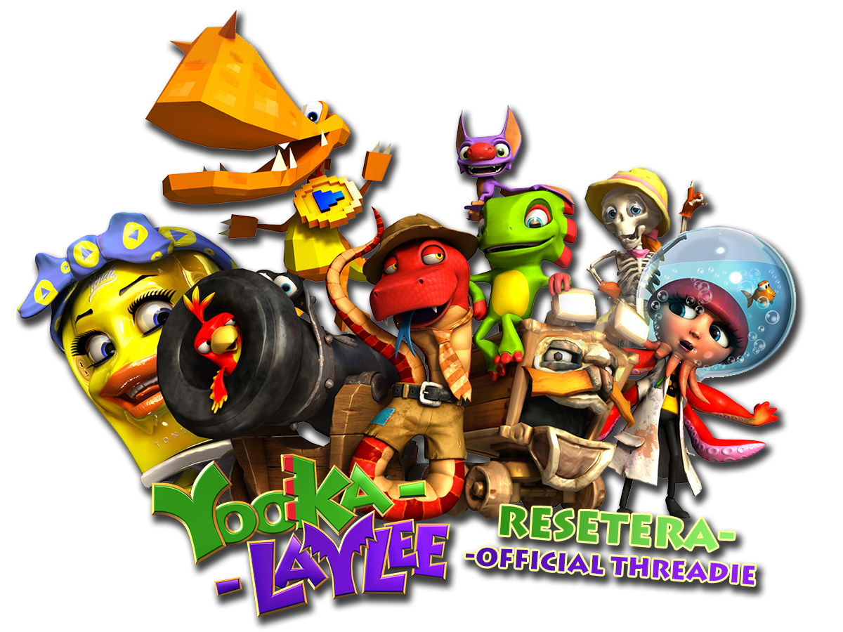 Yooka Laylee Ot A Blast From The Past On Nintendo At Last Resetera Ps4