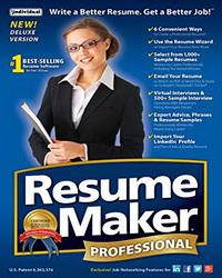 Resumemaker Pro Deluxq0j7g