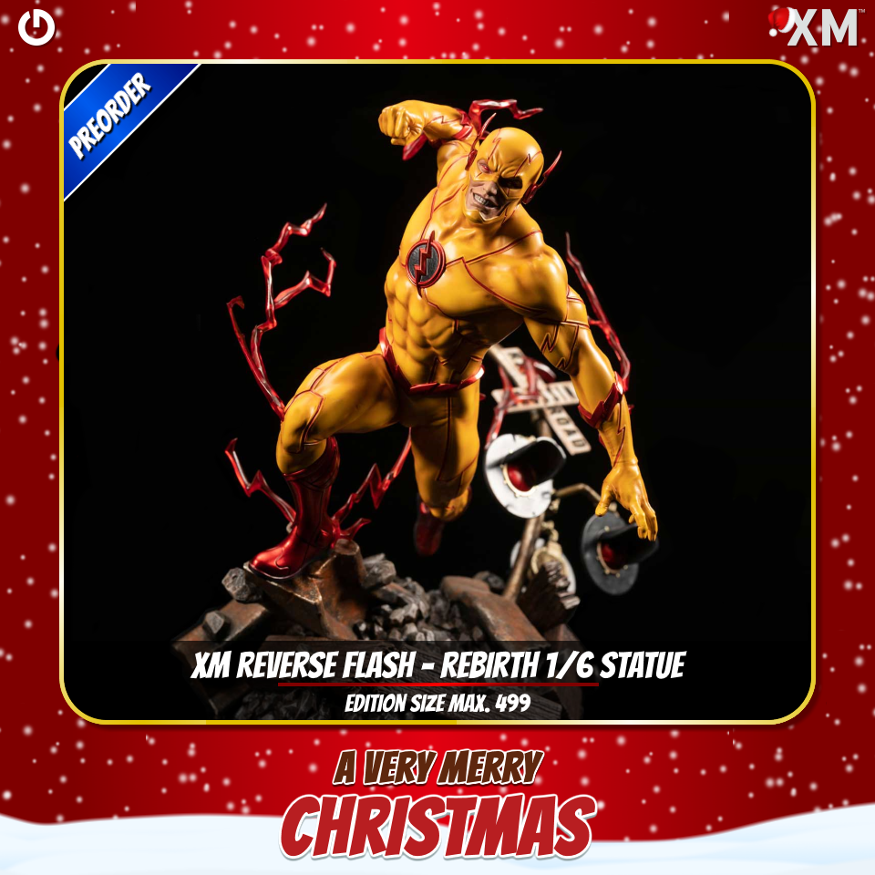 XM Studios: Christmas 2020 Reverseflashc4jux