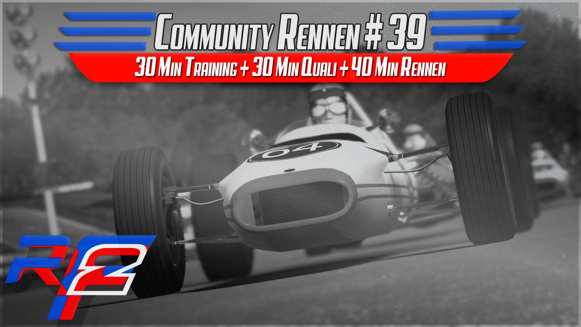 rf2 CR 39 - Live | Classic Formula3 (EVE+Spark) @ Crystal Palace 1969
