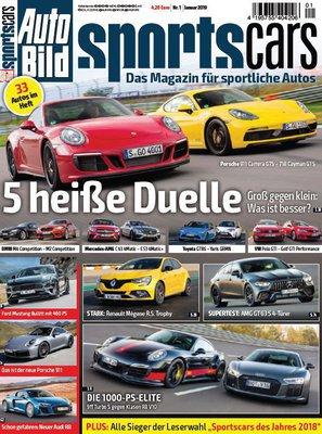Auto Bild Sportscars Januar No 01 2019