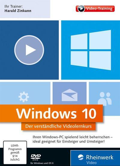 Rheinwerk Windows 10 Der verständliche VideolernKurs