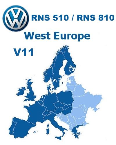 VW RNS 510 V11 - GPS Underground :: Your Tracks Guide