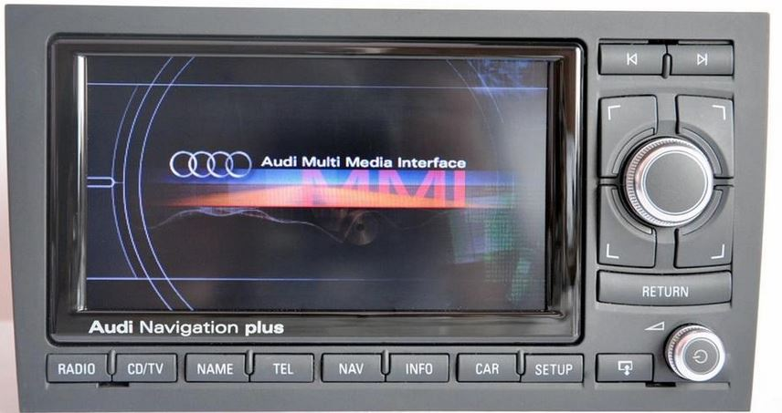 Audi RNSE Navigation Plus CS GPS Underground Your - Audi rns e