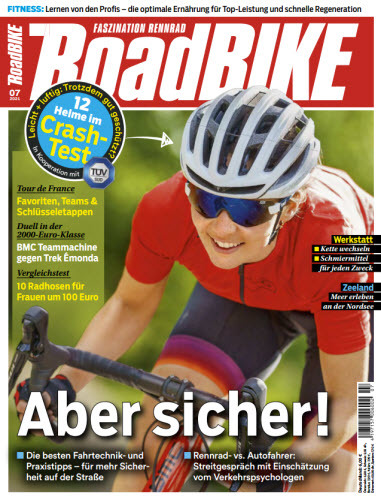 Cover: Roadbike Rennrad Magazin No 07 2021