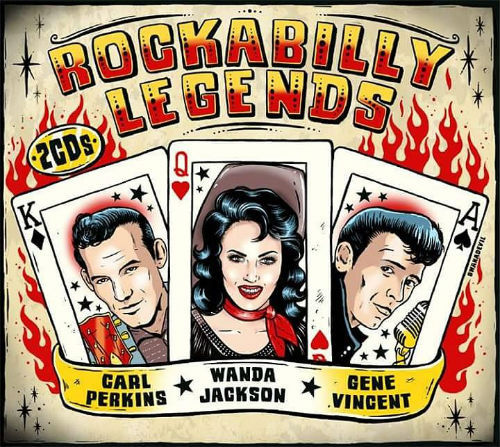 Rockabilly Legends [2CD], Cosmic Chill Lounge Vol.7, Afrosonique Vol.1, King Size Dub Germany Downtown Chapter 3