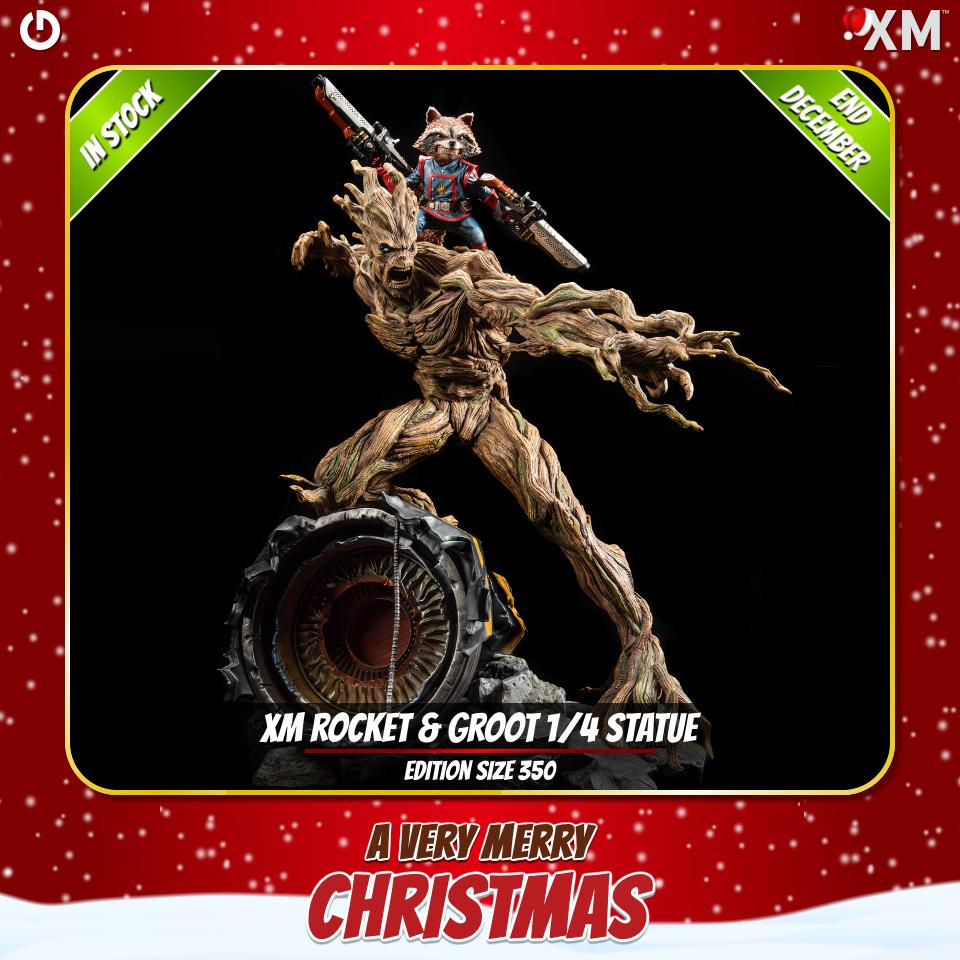 XM Studios: Christmas 2020 Rocketgroot43kyb