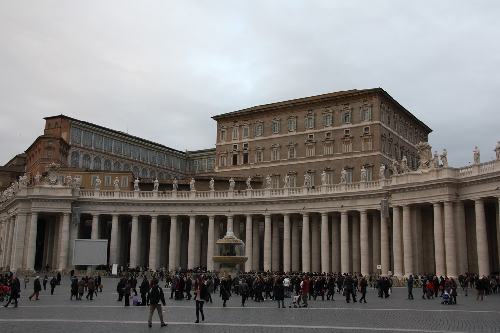 Papstpalast In Rom