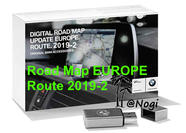 2019-2 | BMW Navigation Update USB Road Map EUROPE WEST & EAST ROUTE ...