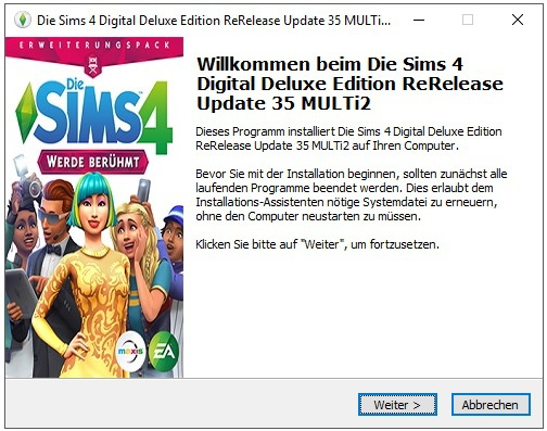 Die Sims 4 Digital Deluxe Edition Rerelease Update 35 Multi2
