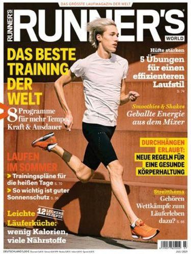Cover: Runners World Magazin No 07 Juli 2021