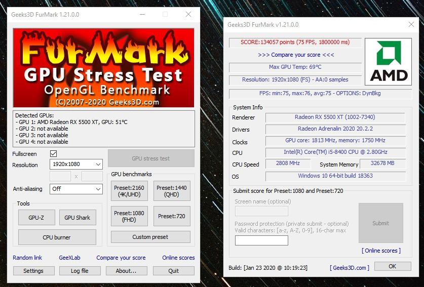 rx5500temperaturfurmaw8jro - Testers Keepers mit der MSI Radeon™ RX 5500 XT GAMING X 8GB
