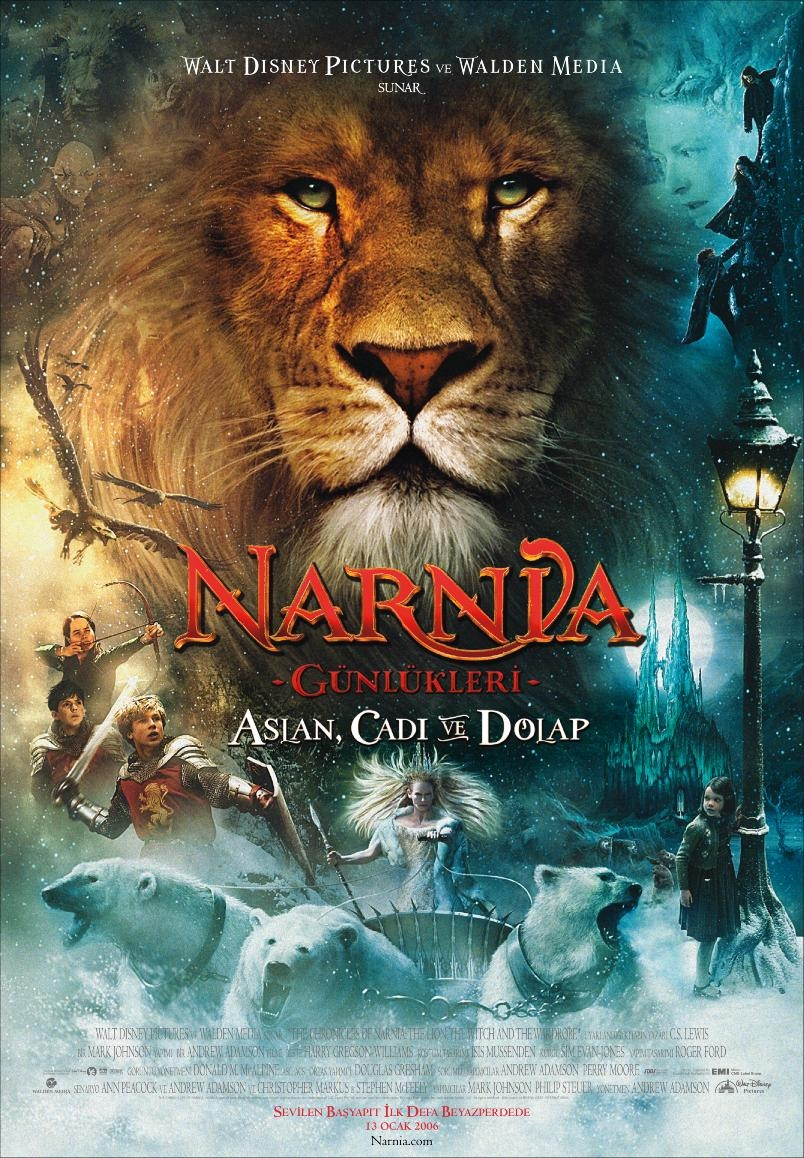 Narnia Günlükleri: Aslan, Cadı ve Dolap (2005) Film İndir