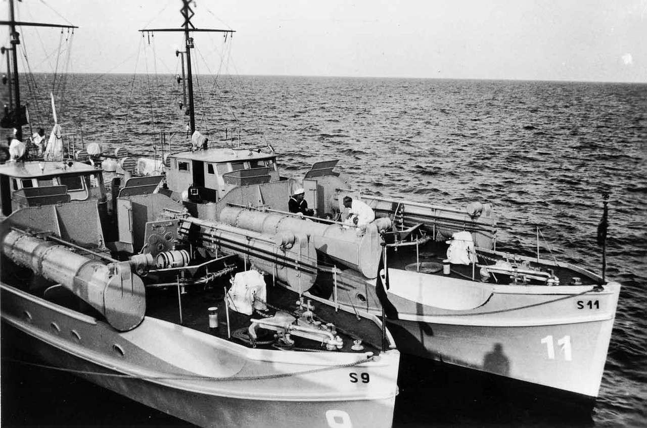 Schnellboote Série S7-S13 de la Reichsmarine 1:250 S-009-und-s-1193kkn