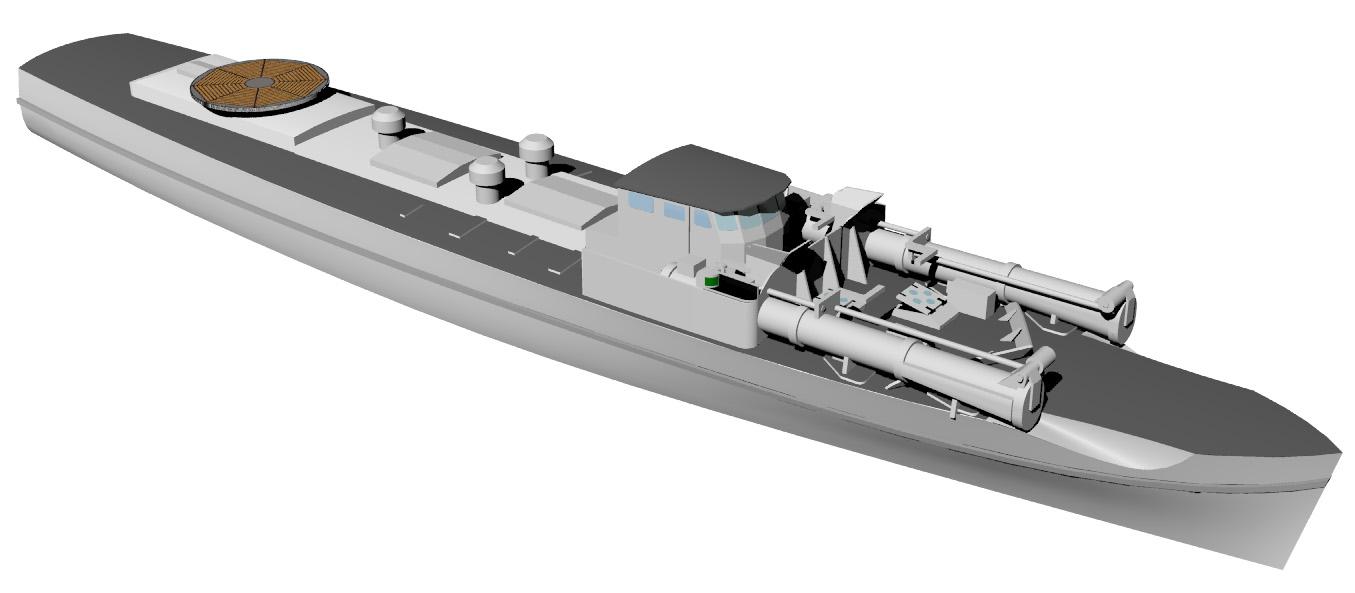Schnellboote Série S7-S13 de la Reichsmarine 1:250 S-boot-05czjjs