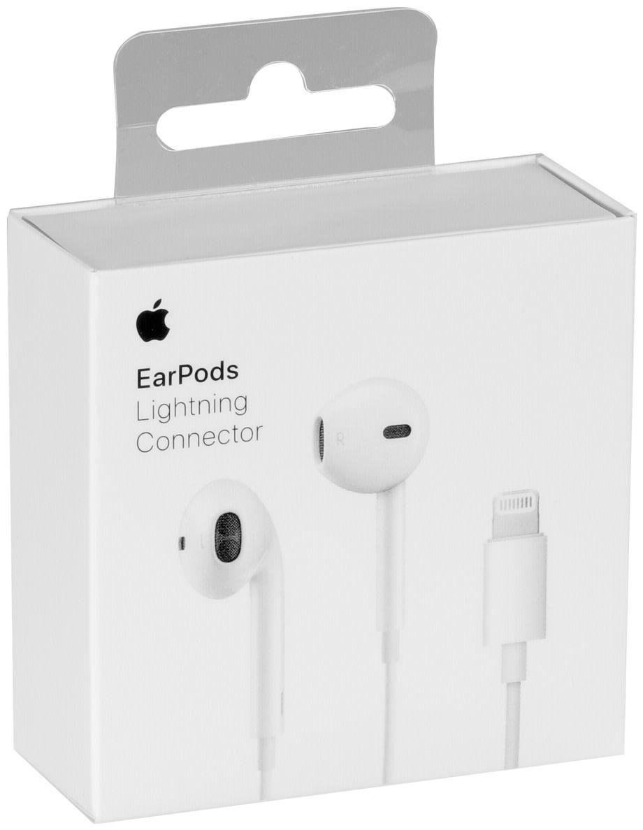 original apple lightning earpods headset kopfh rer mmtn2zm. Black Bedroom Furniture Sets. Home Design Ideas