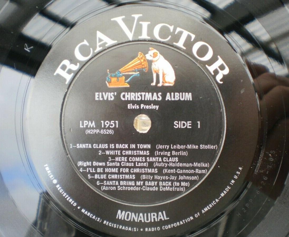 ELVIS' CHRISTMAS ALBUM S-l160025cjpq
