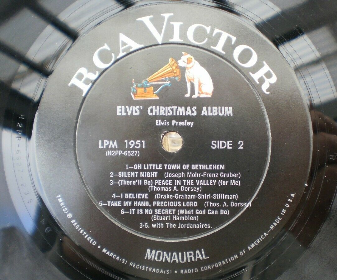 ELVIS' CHRISTMAS ALBUM S-l160039ikej