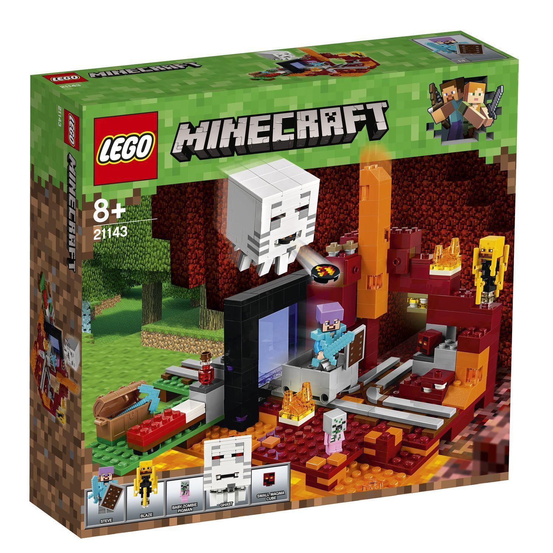LEGO® Minecraft™ - 21143 Netherportal - NEU & OVP + passt zu 21118 ...