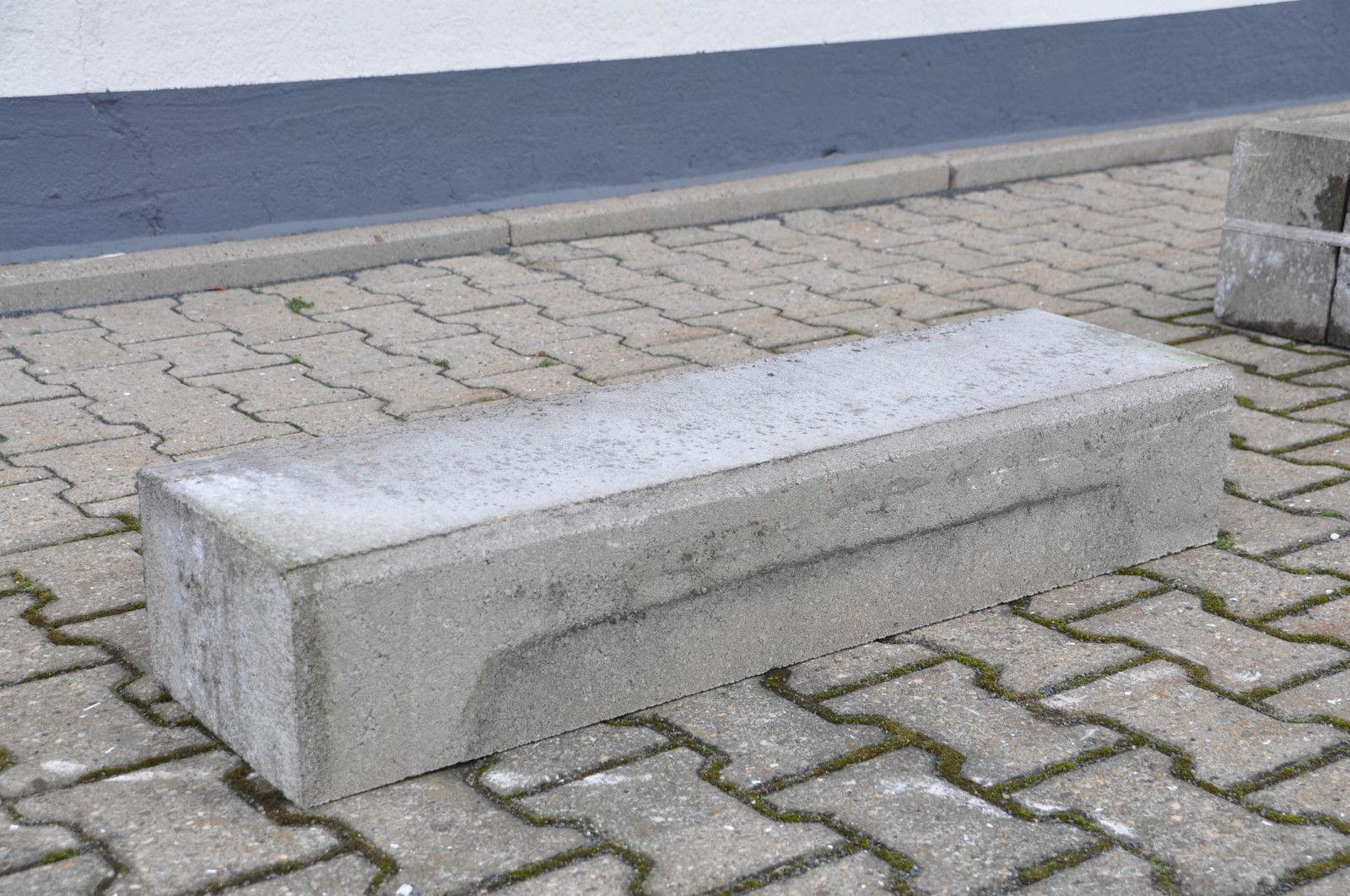 betonstufe blockstufen stufen betonstufen stufe beton 6er. Black Bedroom Furniture Sets. Home Design Ideas