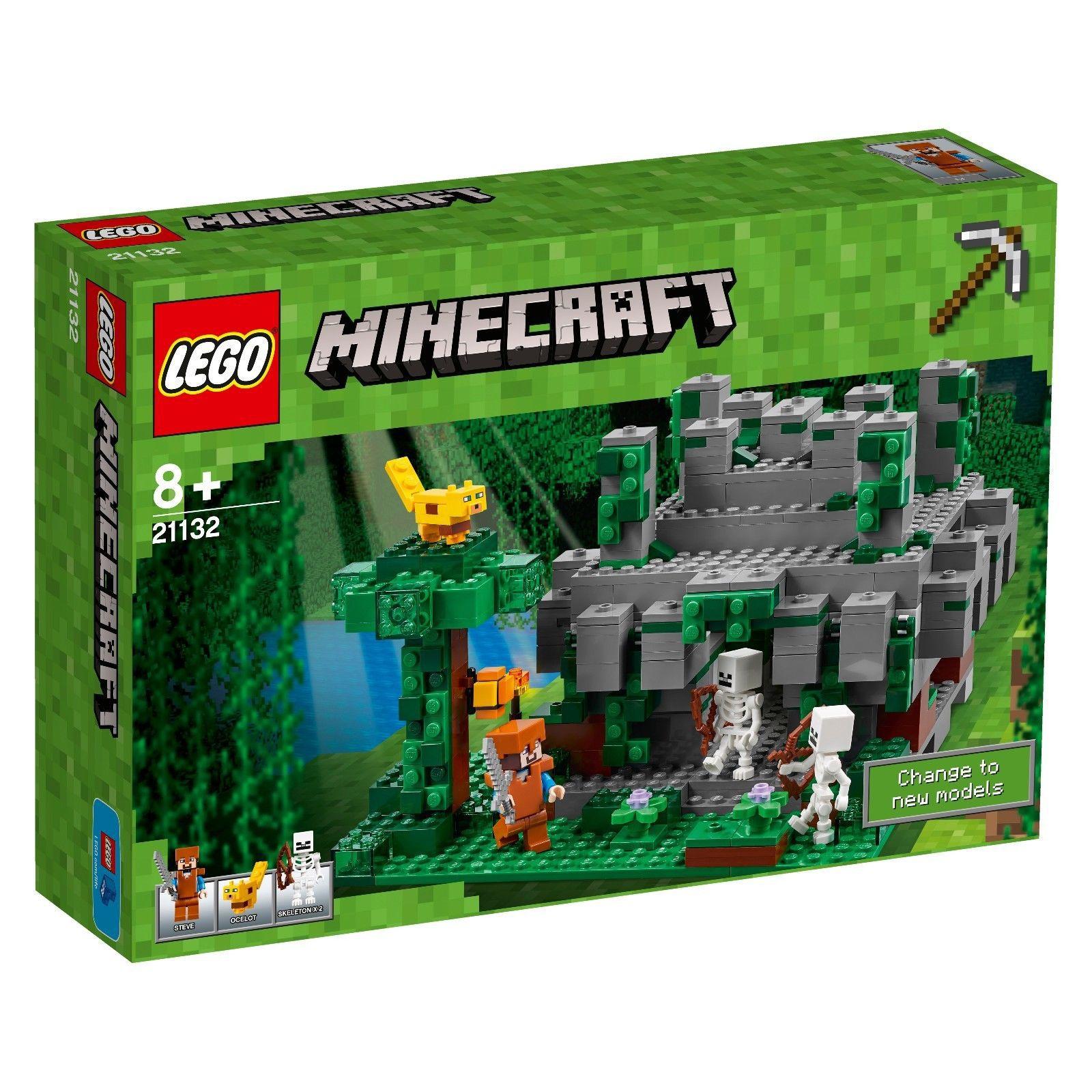 LEGO® Minecraft™ - 21132 Der Dschungeltempel ++ NEU & ungeöffnet ++ ...
