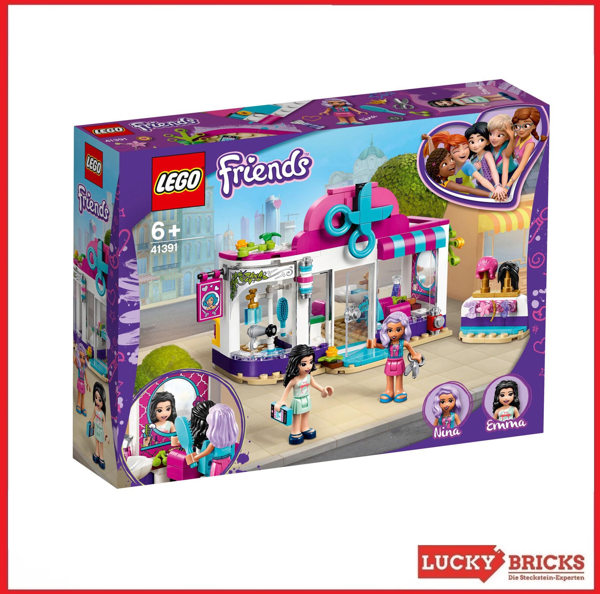 LEGO Friends 41391 Friseursalon von Heartlake City mit Emma Spielfigur