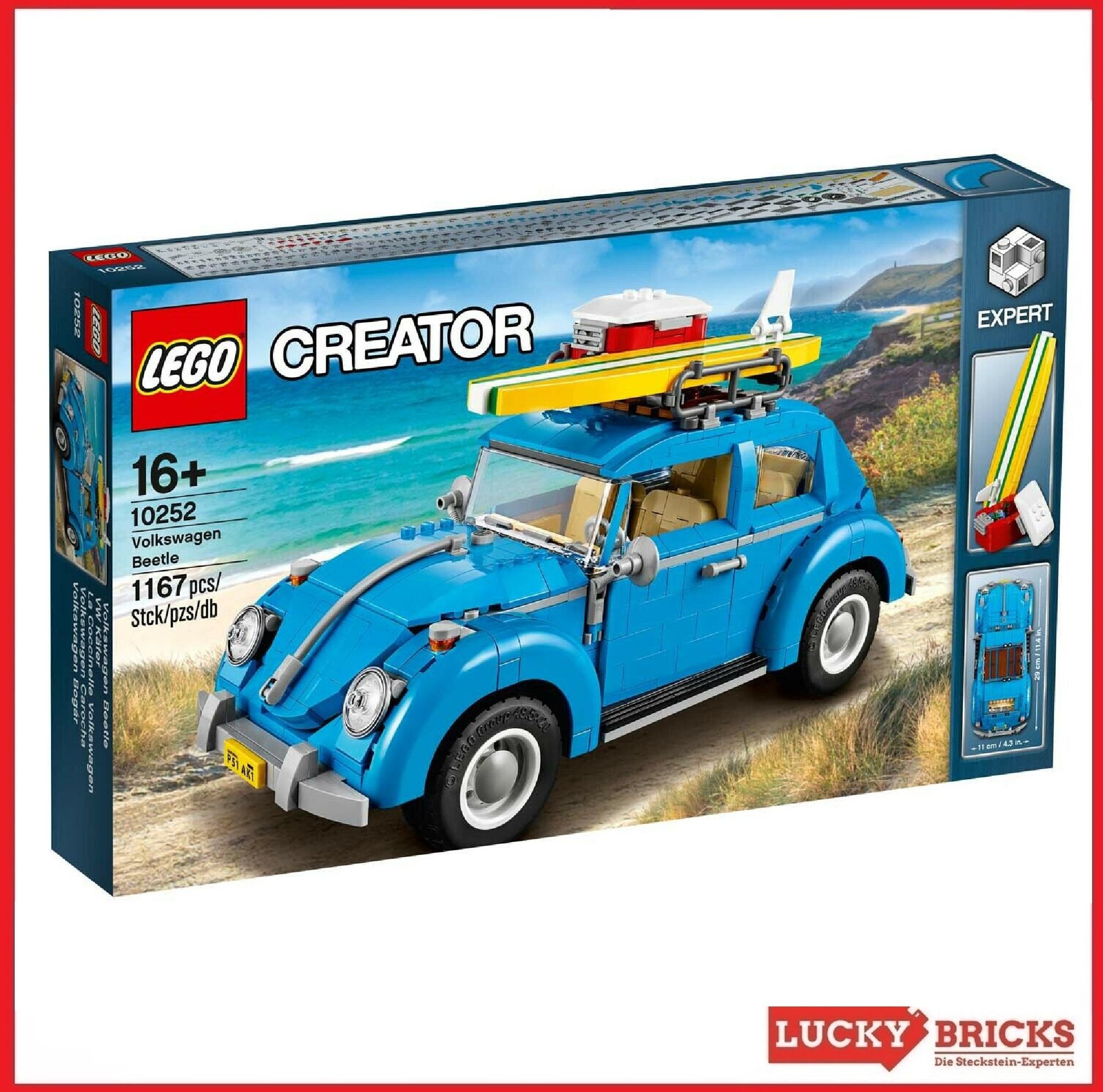 Acrylglas Vitrine Haube für LEGO Modell VW Beetle 10252