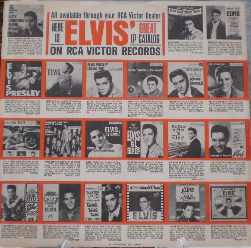 ELVIS' CHRISTMAS ALBUM S-l1600w9jdx