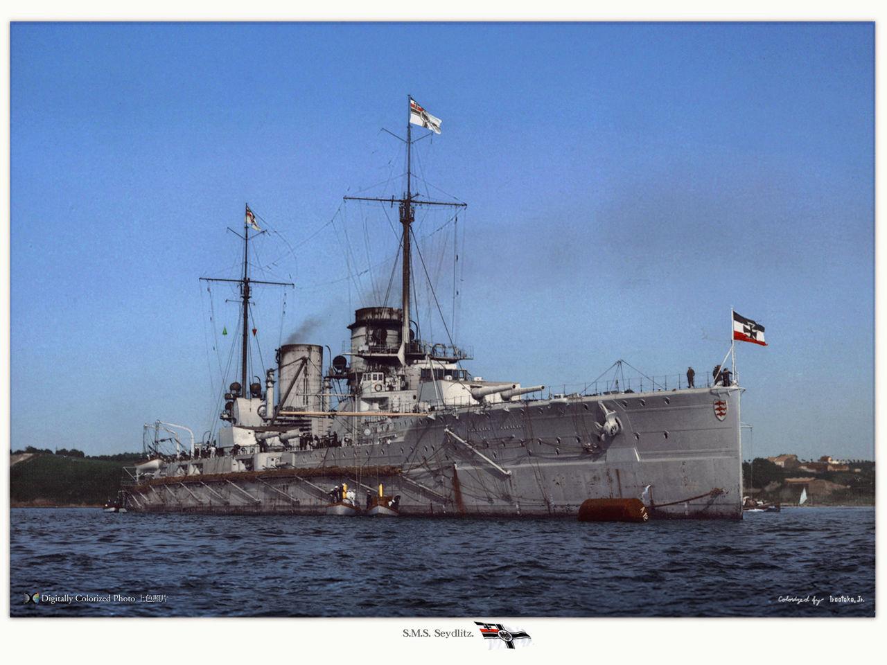 Croiseur de bataille SMS Seydlitz 1/350 Hobby Boss  - Page 3 S.m.s.-seydlitz-x4jq3