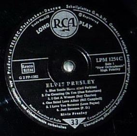RCA LP-Label-Spiegel der Bundesrepublik Deutschland S11956aai5m