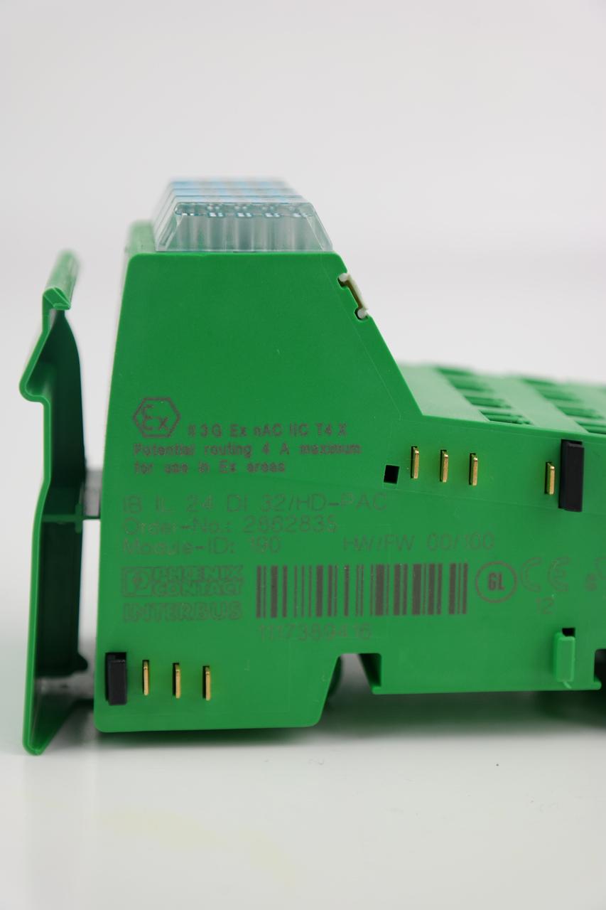 Digitaleingabeklemme 2862835 Phoenix Contact IB IL 24 DI 32//HD-PAC Inline
