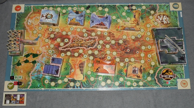 Jurassic Park Brettspiel