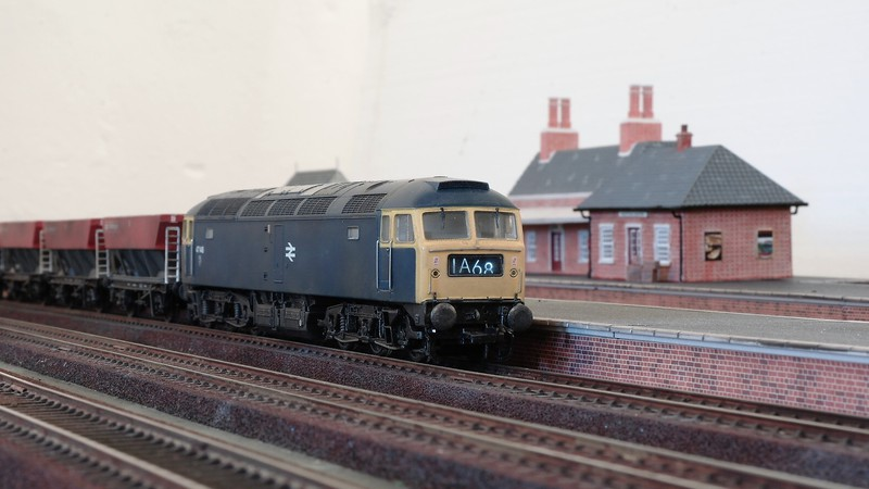 Bachmann UK 00 gauge British Railways blue era diesel Sam_2680wekag