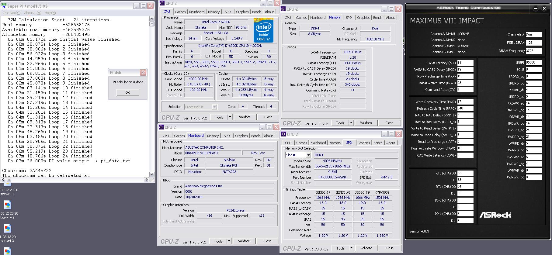 GUIDE] Skylake Memory Timings on Asus Motherboards !