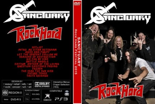 Sanctuary - Live at Rock Hard Festival (2015)
