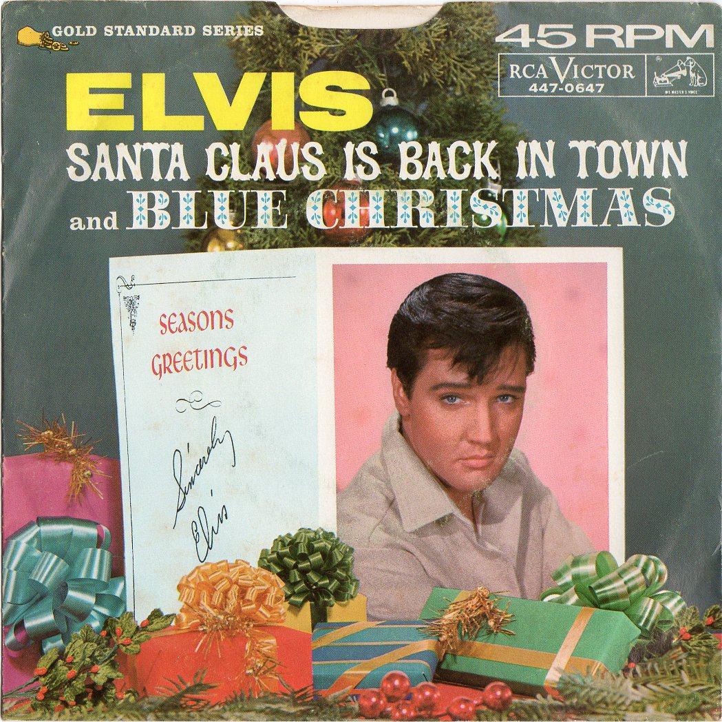 SANTA CLAUS IS BACK IN TOWN / BLUE CHRISTMAS Santaclausus_0002yqj2h