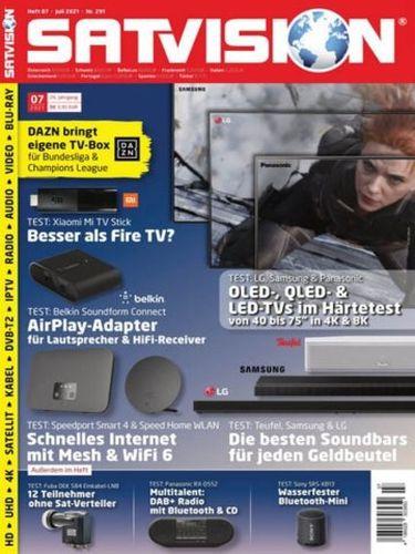 Cover: Satvision Magazin No 07 Juli 2021