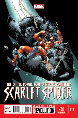 Scarlet Spider #13 cover