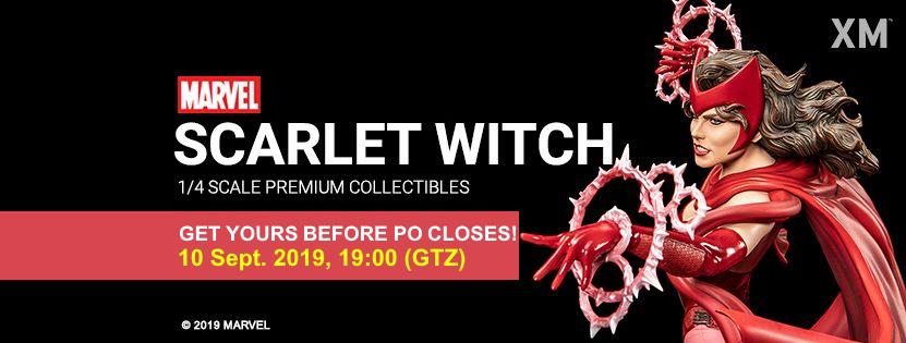 Premium Collectibles : Scarlet Witch** Scarletwitchfinalpoba0qjif