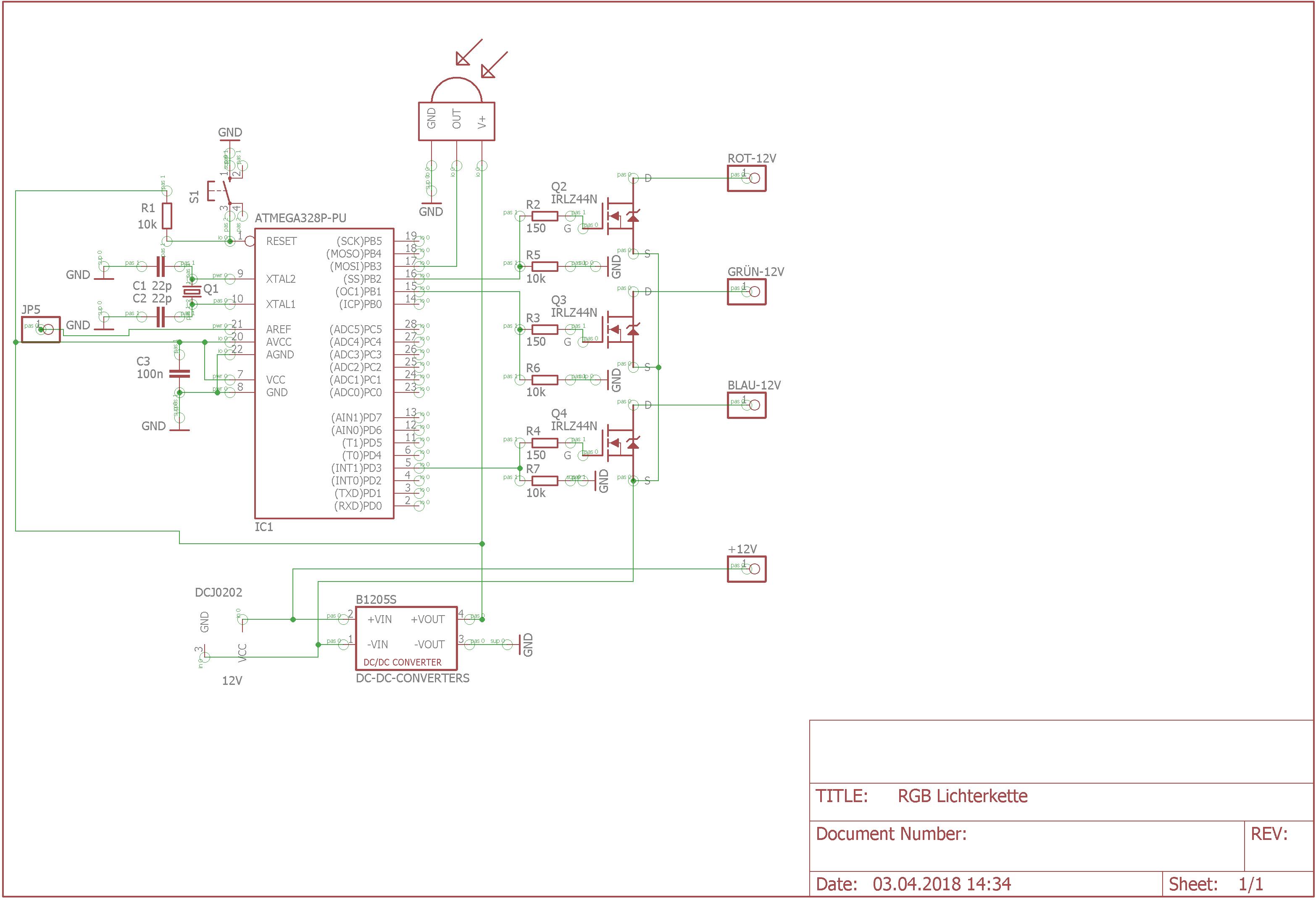 Steuerung von RGB LED Lichterkette