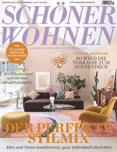Cover: Schöner Wohnen Magazin No 07 Juli 2021