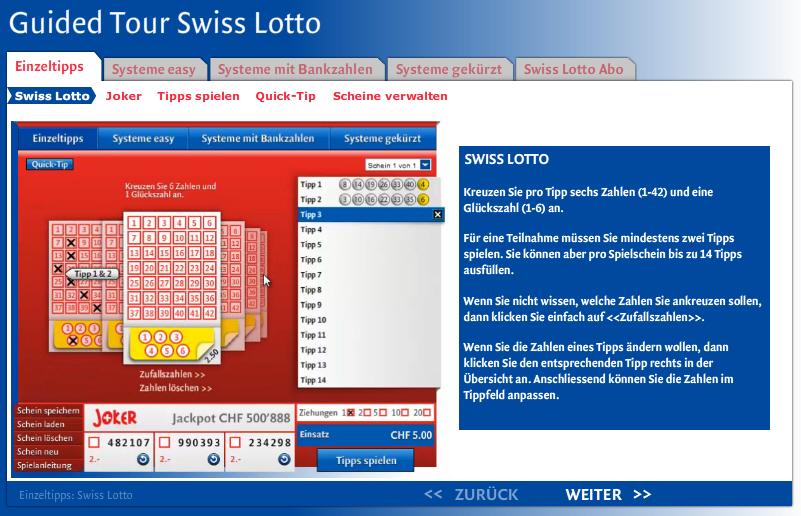höchster lotto jackpot schweiz